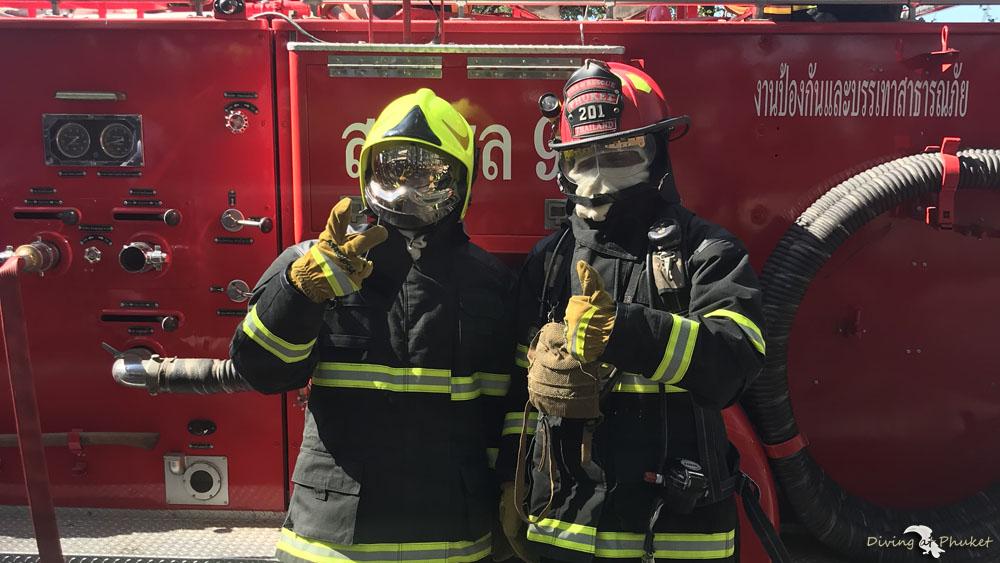 プーケット消防士