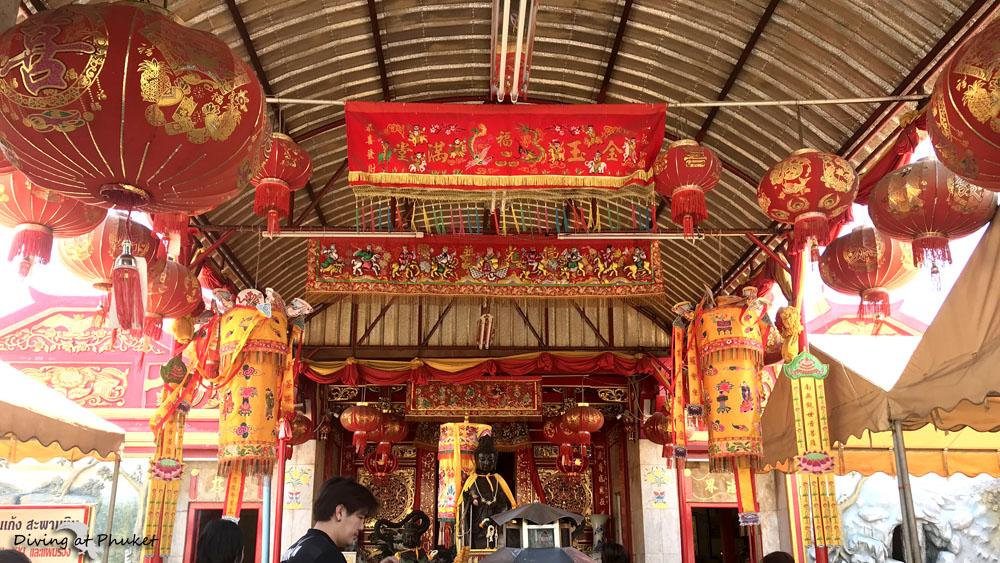 プーケット中華寺院