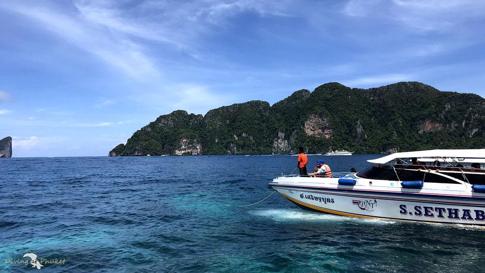 プーケット発ピピ島スピードボート