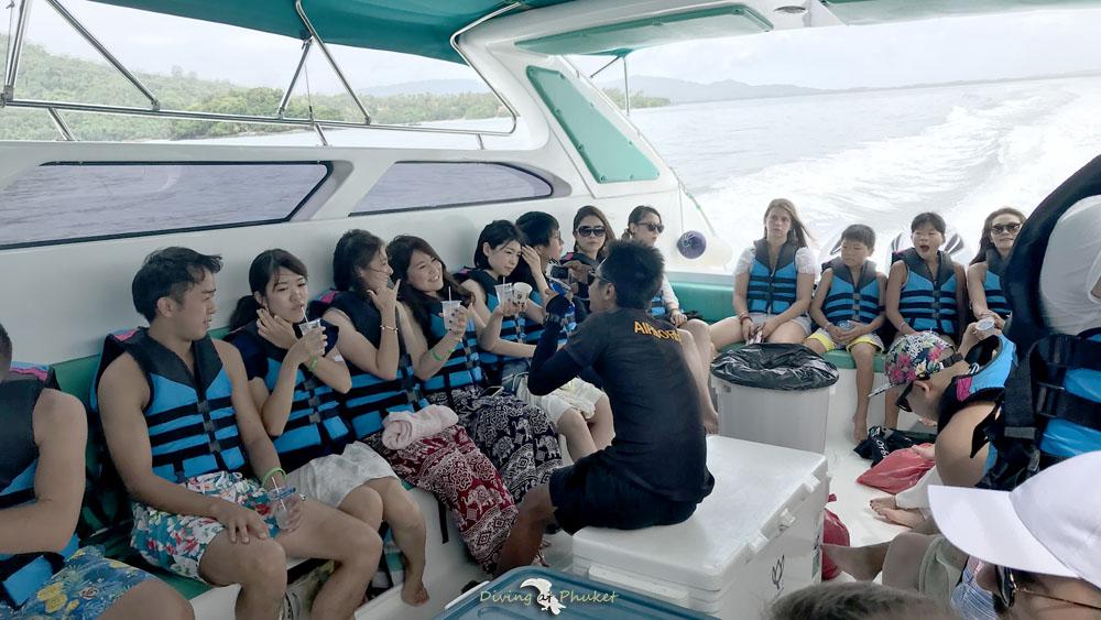 プーケット発ピピ島 スピードボート