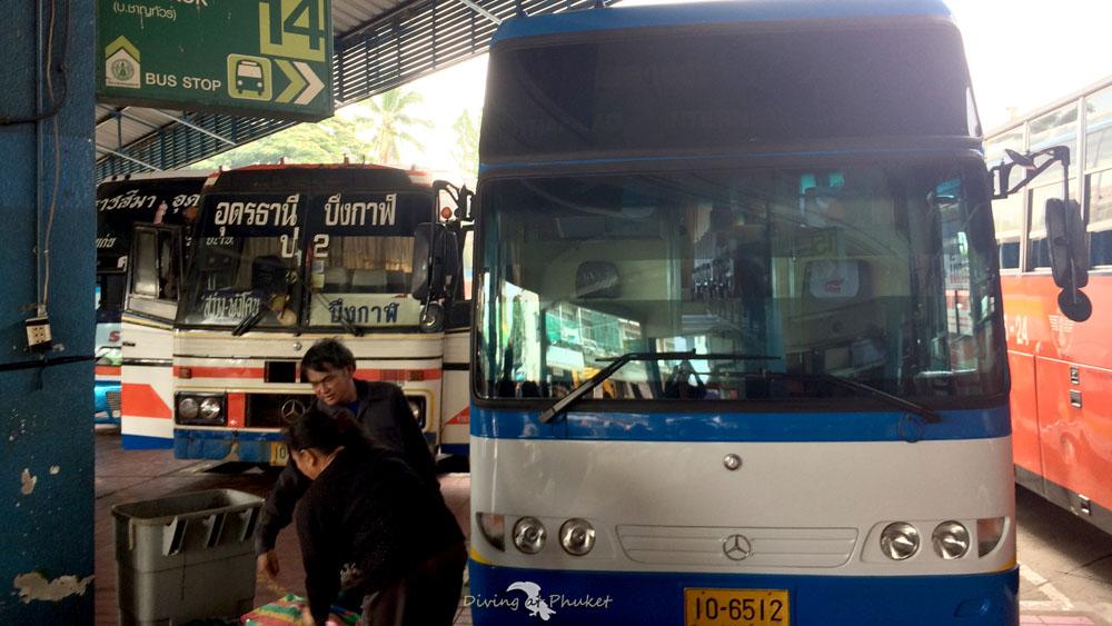 タイ 国内移動 バス