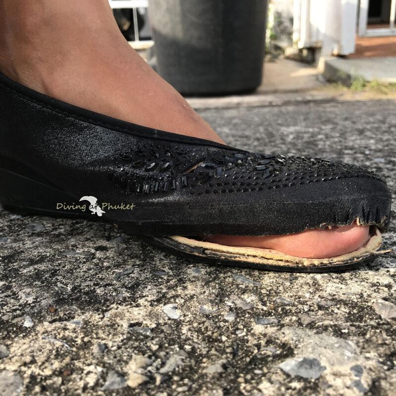 プーケット 靴