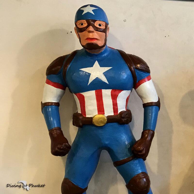プーケット キャプテンアメリカ