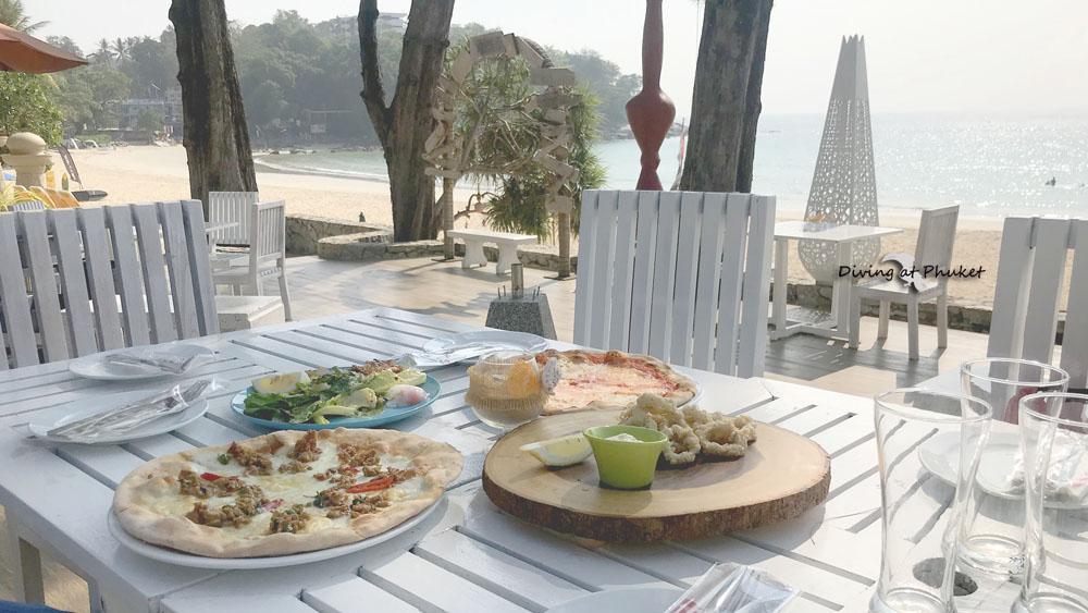 プーケット カタビーチレストラン